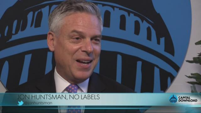 Former Utah Governor Jon Huntsman says running as a third-party candidate would be a ?suicide mission?