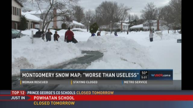 PHOTOS: Viewers show unplowed streets
