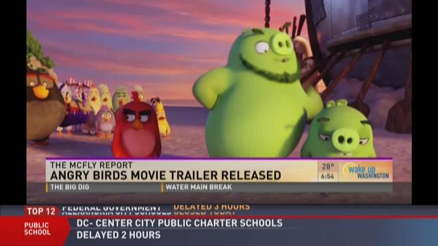 McFly report: Angry Birds movie trailer released