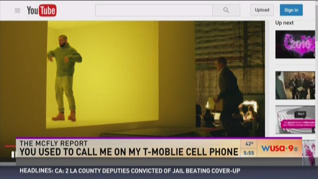 McFly Report: You used to call me on my T-Mobile cell phone