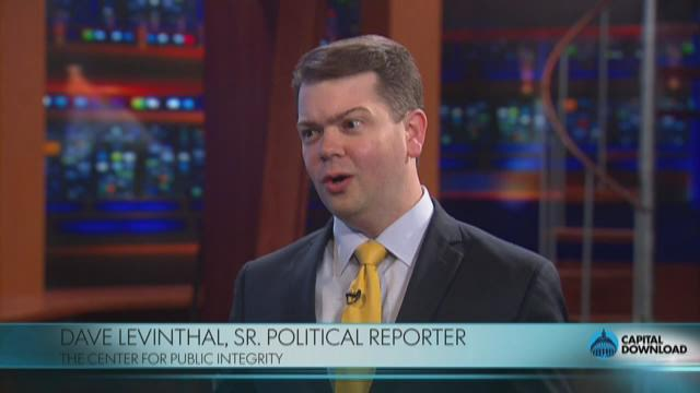 Dave Levinthal discusses the role money and popularity play in presidential campaigns.