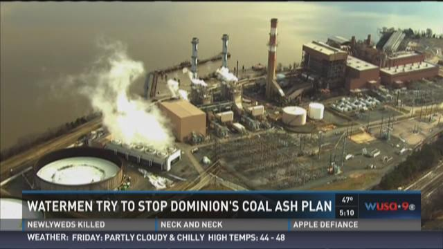 Oyster farmers hope to stop dominion 39 s coal ash plan for Domon power release