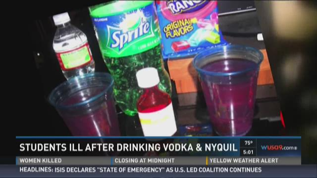 Middle School Students Ill After Drinking Mixture Of Vodka Nyquil And Jolly Ranchers Wusa9 Com