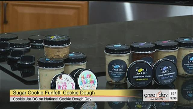 The Cookie Jar Dc Awesome Edible Cookie Dough For National Cookie Dough Day Wusa60