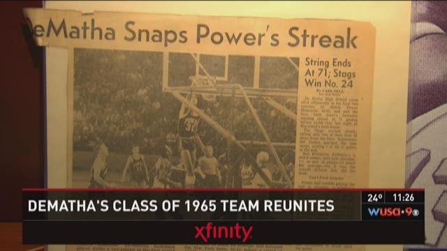 DeMatha's class of 1965 team reunites