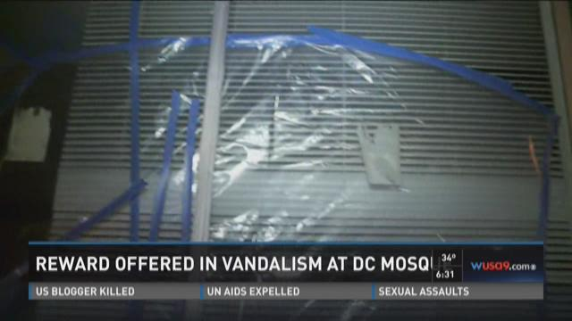 CAIR offering reward for DC mosque vandalism info
