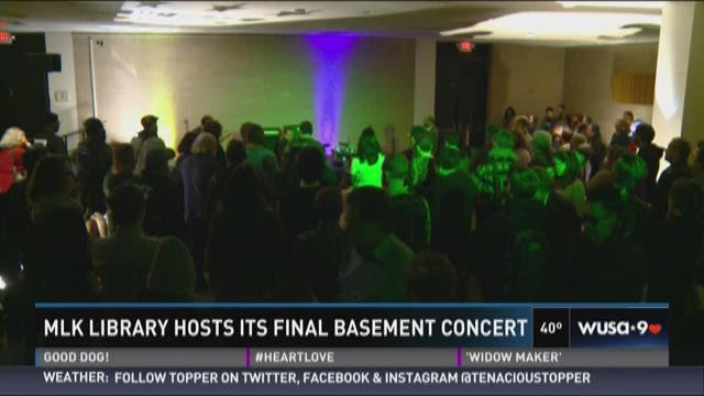 mlk library hosts its final basement concert