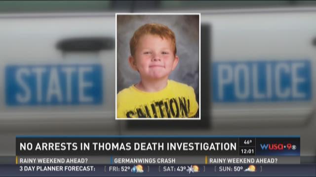 No arrests in Noah Thomas death investigation