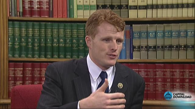 Rep. Joe Kennedy III talks about family legacy