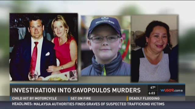Savvas Savopoulos, 46, his wife Amy, 47, son Phillip,