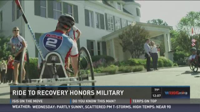 Ride 2 Recovery honors those lost, veterans still with us