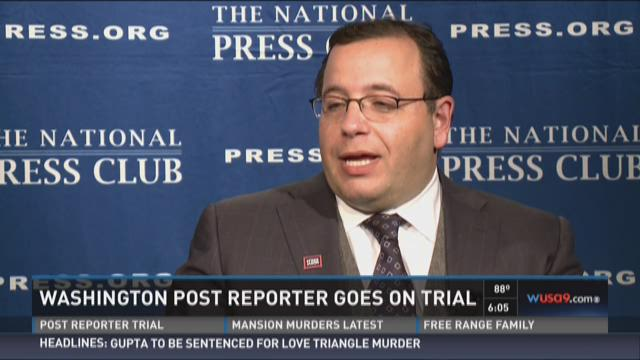 Washington Post reporter goes on trial