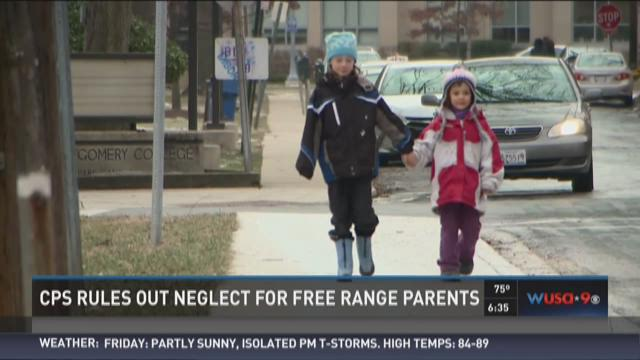 CPS rules out neglect for free range parents
