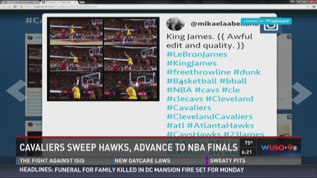 Cavaliers sweep Hawks, advance to NBA Finals