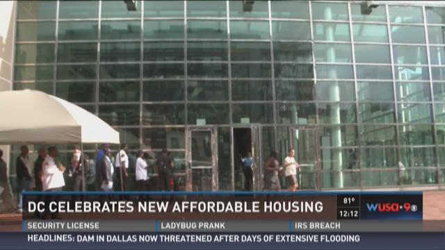 DC celebrates new affordable housing