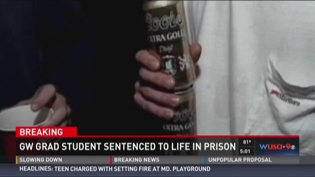 GW Grad Student sentenced to life in prison