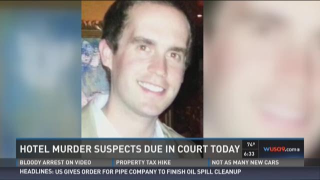 The Donovan Hotel murder suspects