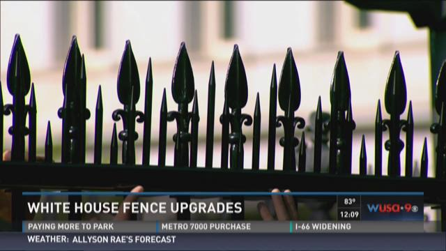 White House fence upgrades begin