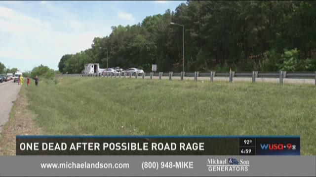 One dead after possible road rage