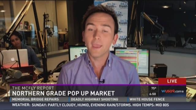 McFly Report: Northern Grade pop up market
