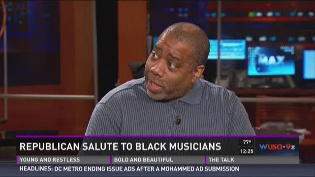 Republican salute to black musicians