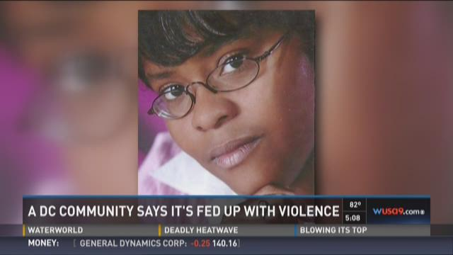 D.C. Community says it is fed up with violence