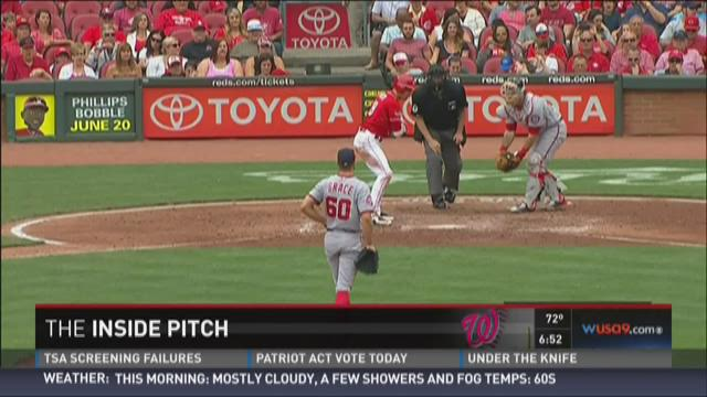 Inside Pitch: Bizarre Nats moment in Cincinatti