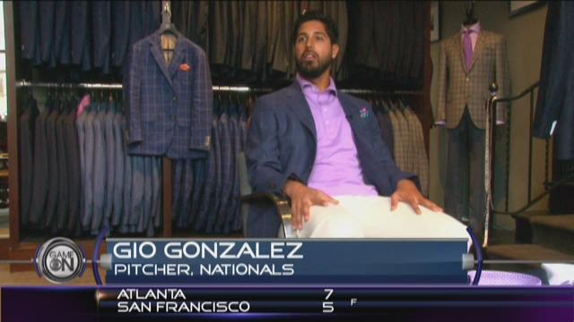 Exclusive behind the scenes look with Gio Gonzalez