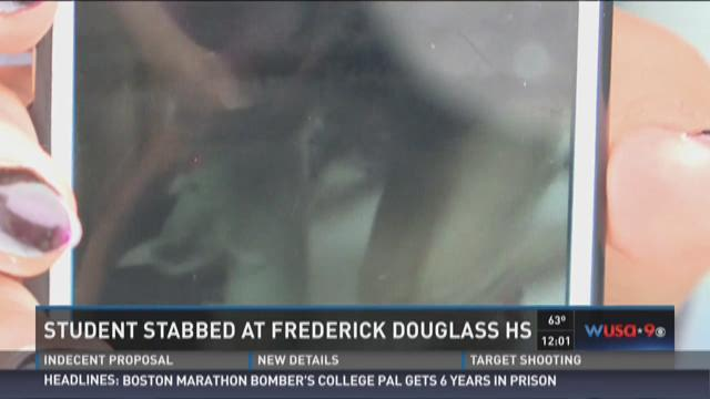 Student stabbed at Frederick Douglass HS