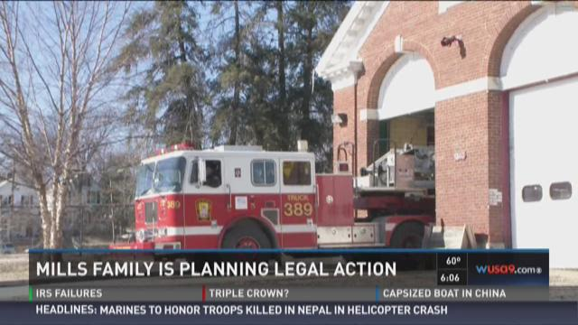 Mills family is planning legal action