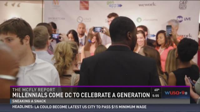 The McFly Report: Millenials come to DC to celebrate