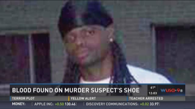 CNN: Blood found on murder suspect's shoe