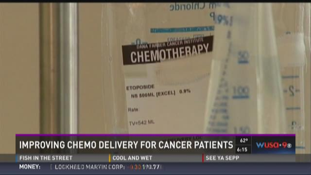 Improving chemo delivery for some cancer patients