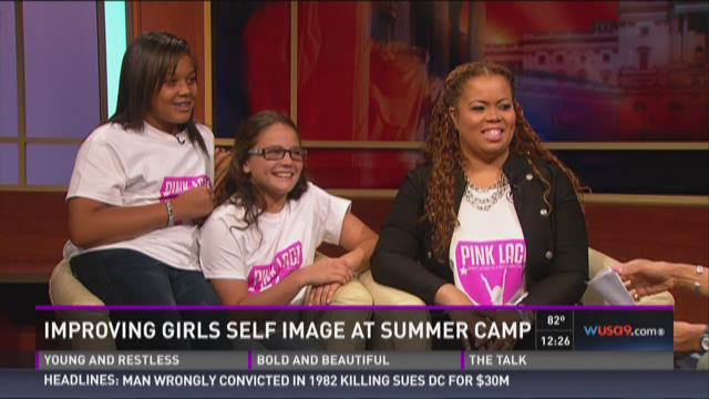 Improving girls' self image at summer camp