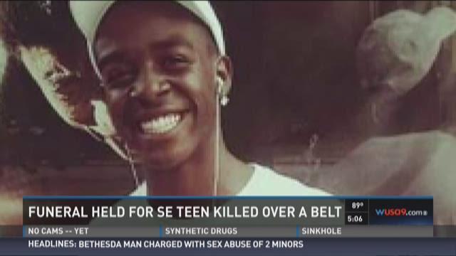 Funeral held for SE teen killed over a belt