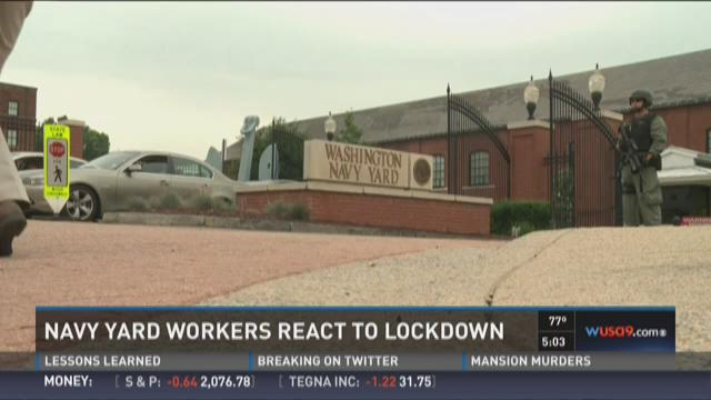 PHOTOS: Navy Yard on lock down after reports of shooting