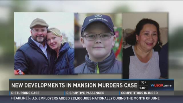 New developments in DC mansion murders
