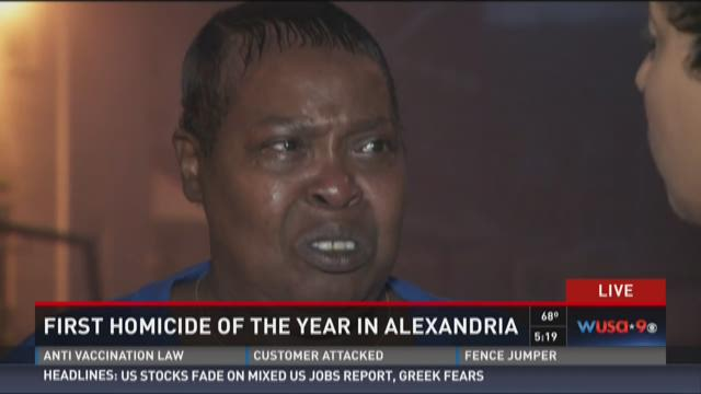 Aunt of Alexandria's first homicide victim of the year speaks