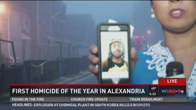 Man dies in first Alexandria homicide of the year
