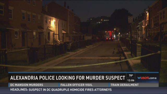 Police search for suspect in Alexandria 1st murder of the year