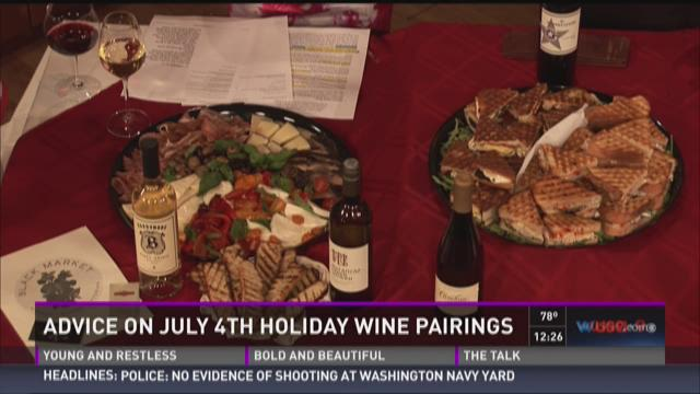 Advice for July 4th wine pairings
