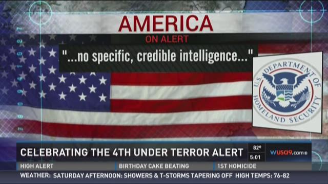 Celebrating the 4th under terror alert