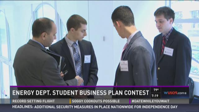 Energy Department Student Business Plan Contest