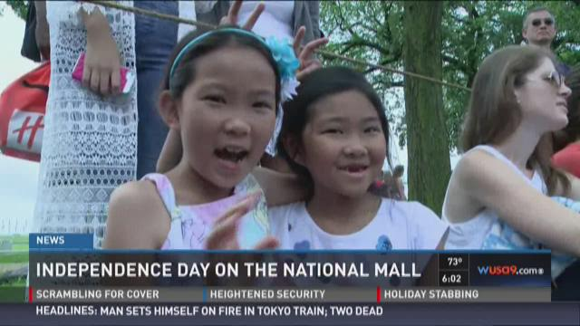 Independence Day on the National Mall