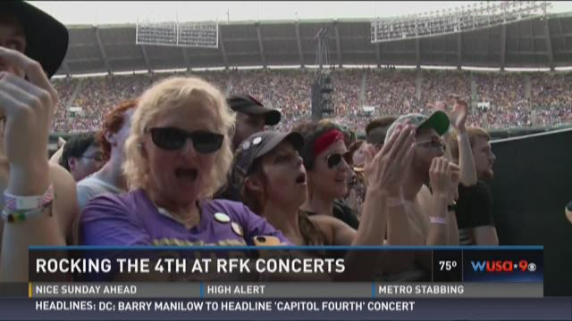 Rocking the 4th at RFK Concerts
