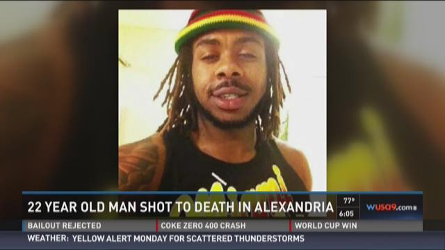 22-year-old man shot to death in Alexandria