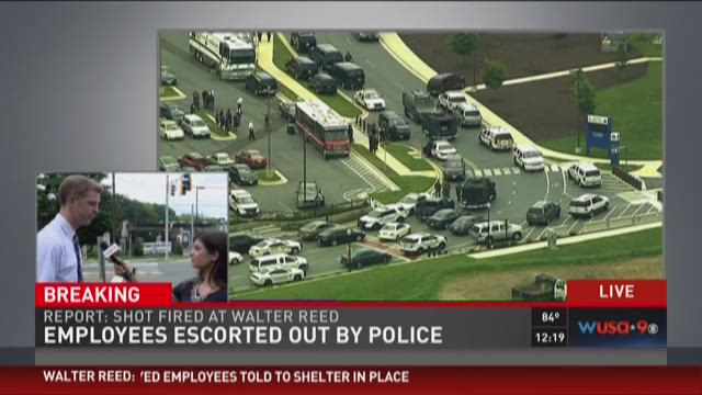 New information from Walter Reed scene