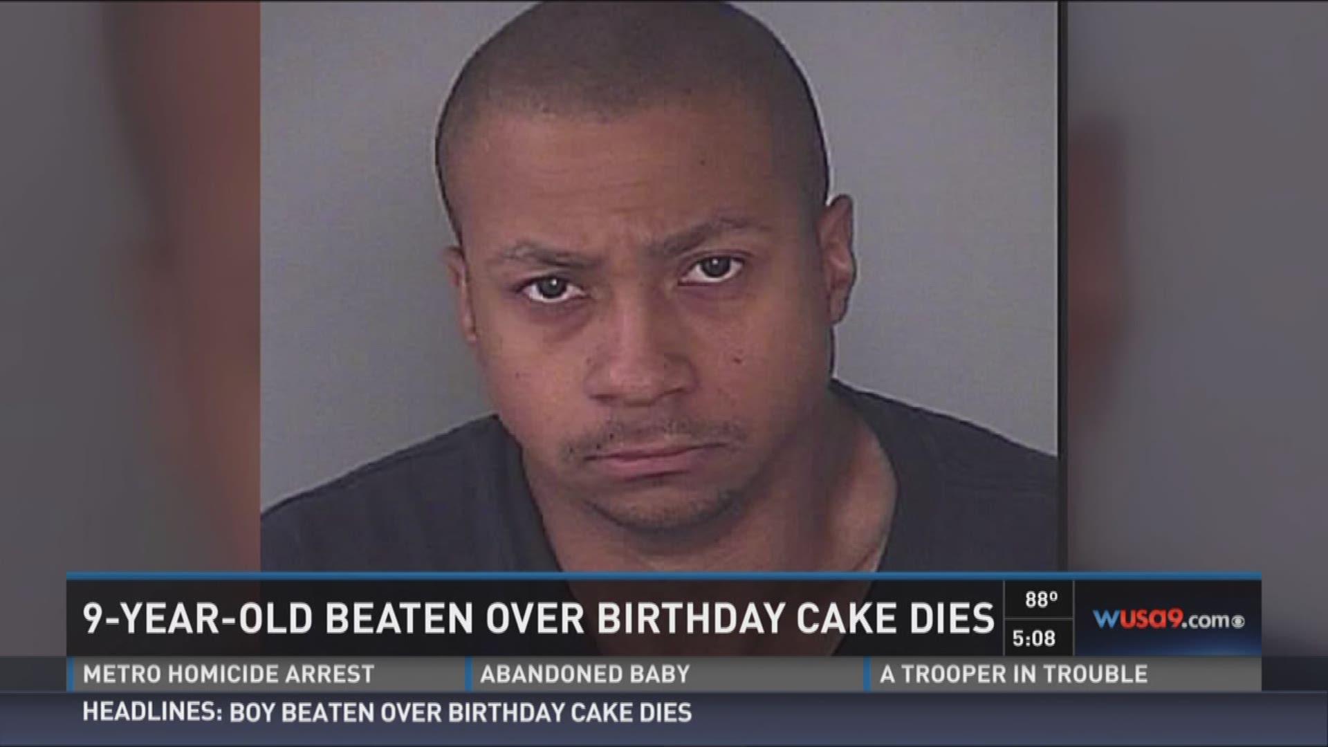 Boy beaten over birthday cake dies