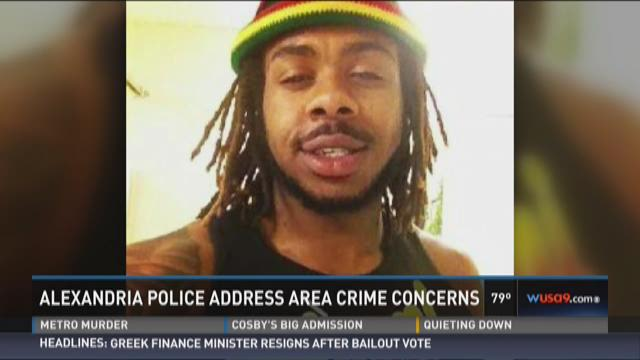 Alexandria police address area crime concerns