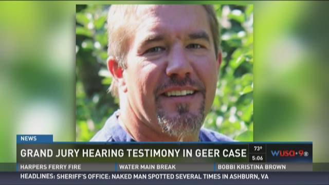 Grand Jury Hearing Testimony In Geer Case